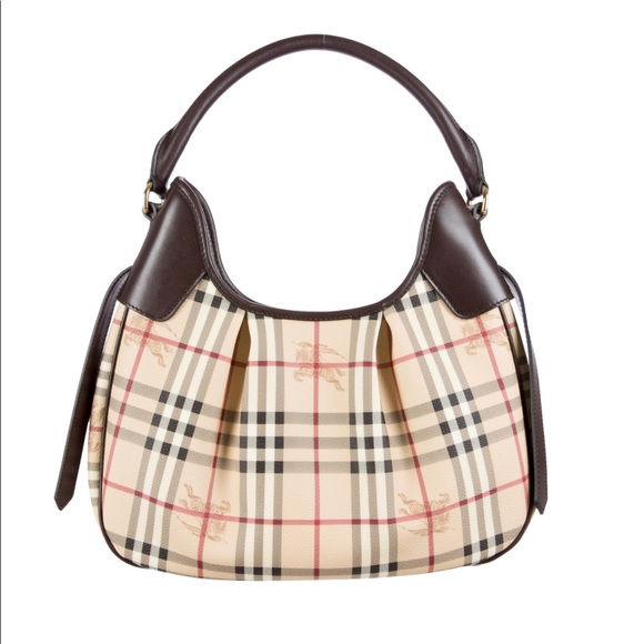 790028dc88a Burberry Handbags - BURBERRY CHECK PRINT HOBO HANDBAG